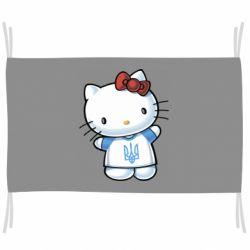 Флаг Hello Kitty UA