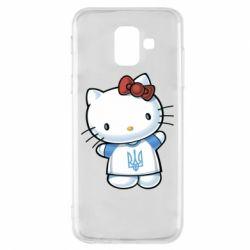 Чехол для Samsung A6 2018 Hello Kitty UA