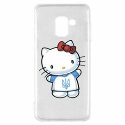 Чехол для Samsung A8 2018 Hello Kitty UA