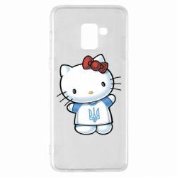 Чехол для Samsung A8+ 2018 Hello Kitty UA