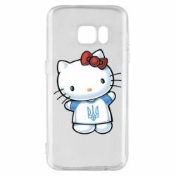 Чехол для Samsung S7 Hello Kitty UA