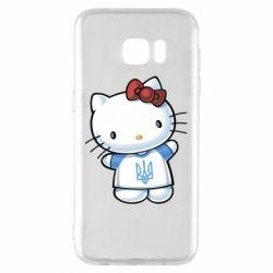 Чехол для Samsung S7 EDGE Hello Kitty UA
