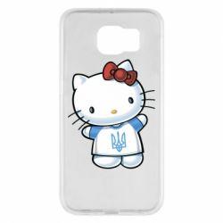 Чехол для Samsung S6 Hello Kitty UA