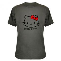 Камуфляжна футболка Hello Kitty