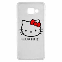 Чехол для Samsung A3 2016 Hello Kitty