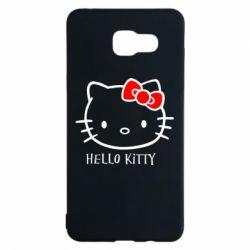 Чехол для Samsung A5 2016 Hello Kitty