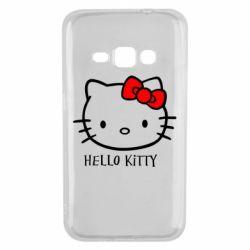 Чехол для Samsung J1 2016 Hello Kitty