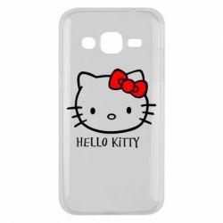 Чехол для Samsung J2 2015 Hello Kitty