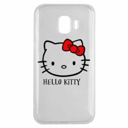 Чехол для Samsung J2 2018 Hello Kitty