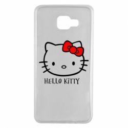 Чехол для Samsung A7 2016 Hello Kitty
