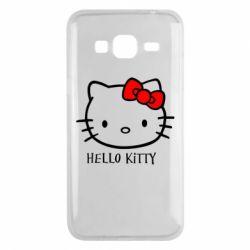 Чехол для Samsung J3 2016 Hello Kitty