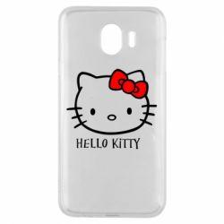 Чехол для Samsung J4 Hello Kitty