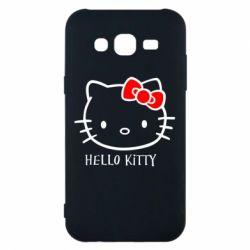 Чехол для Samsung J5 2015 Hello Kitty