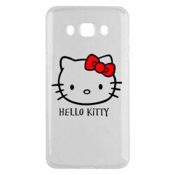 Чехол для Samsung J5 2016 Hello Kitty