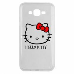 Чехол для Samsung J7 2015 Hello Kitty