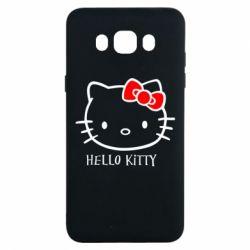 Чехол для Samsung J7 2016 Hello Kitty