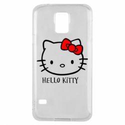 Чехол для Samsung S5 Hello Kitty