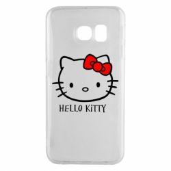 Чехол для Samsung S6 EDGE Hello Kitty