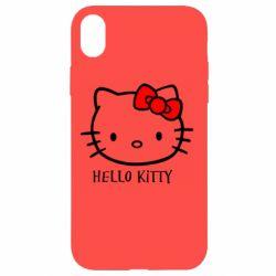 Чехол для iPhone XR Hello Kitty