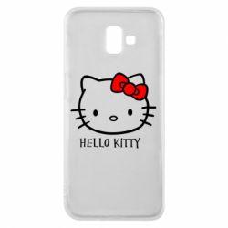 Чехол для Samsung J6 Plus 2018 Hello Kitty