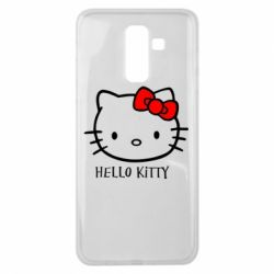 Чехол для Samsung J8 2018 Hello Kitty