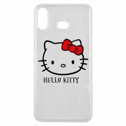 Чехол для Samsung A6s Hello Kitty