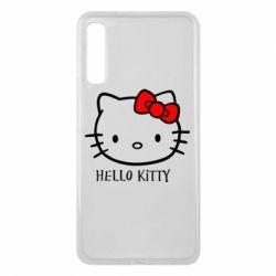 Чехол для Samsung A7 2018 Hello Kitty