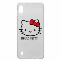 Чехол для Samsung A10 Hello Kitty