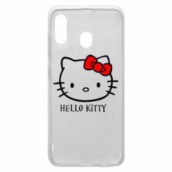 Чехол для Samsung A20 Hello Kitty
