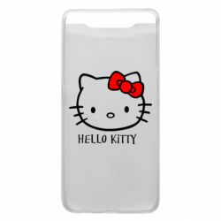 Чехол для Samsung A80 Hello Kitty
