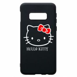 Чехол для Samsung S10e Hello Kitty