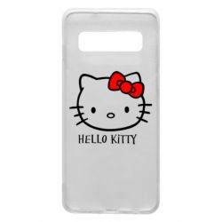 Чехол для Samsung S10 Hello Kitty