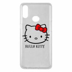 Чехол для Samsung A10s Hello Kitty