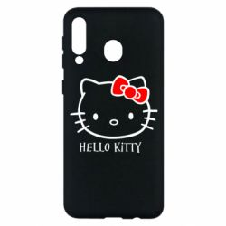 Чехол для Samsung M30 Hello Kitty