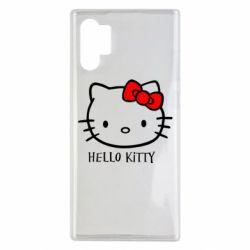 Чохол для Samsung Note 10 Plus Hello Kitty