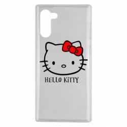 Чохол для Samsung Note 10 Hello Kitty