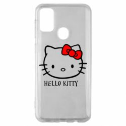 Чехол для Samsung M30s Hello Kitty