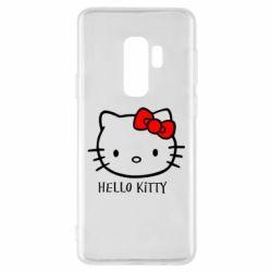 Чехол для Samsung S9+ Hello Kitty