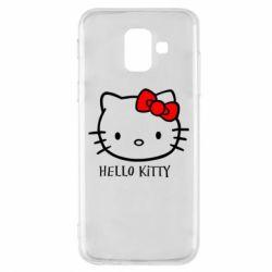 Чехол для Samsung A6 2018 Hello Kitty