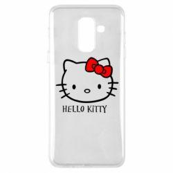 Чехол для Samsung A6+ 2018 Hello Kitty