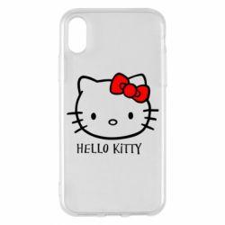 Чехол для iPhone X/Xs Hello Kitty