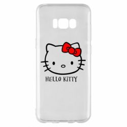Чехол для Samsung S8+ Hello Kitty