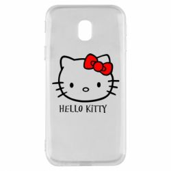 Чехол для Samsung J3 2017 Hello Kitty