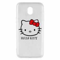 Чехол для Samsung J5 2017 Hello Kitty