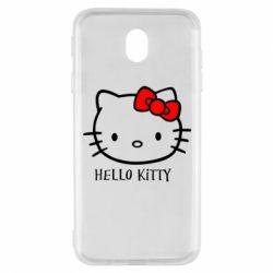 Чехол для Samsung J7 2017 Hello Kitty
