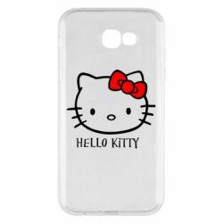 Чехол для Samsung A7 2017 Hello Kitty