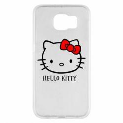 Чехол для Samsung S6 Hello Kitty