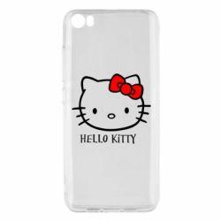 Чохол для Xiaomi Mi5/Mi5 Pro Hello Kitty