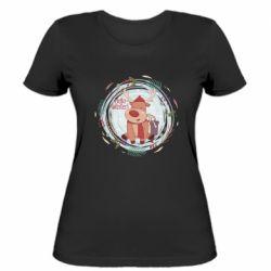Женская футболка Hello winter!