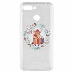 Чехол для Xiaomi Redmi 6 Hello winter!